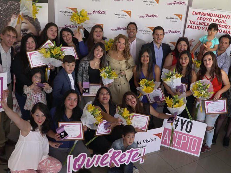 Belcorp Chile organiza y promueve la autoestima y el desarrollo personal